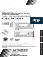 Jvc Kd Lh7r Kd Lh5r PDF Rus