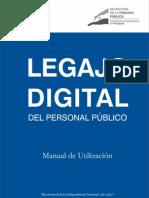 Manual de Legajo Digital del Personal Público - SECRETARIA DE LA FUNCION PUBLICA - PRESIDENCIA DE LA REPUBLICA DEL PARAGUAY - PortalGuarani
