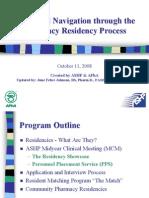 Residencies Ashp Apha07