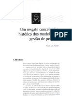 Um Resgate Conceitual e Histórico dos Modelos de Gestão de Pessoas