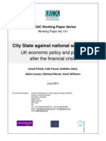 City State and National Settlement CRESC WP101