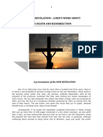 Brochure - New Revelation - About the Death and Resurrection of the Lord