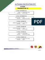 Segunda Fase - Triangular 10 - 2011