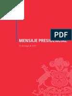 Mensaje Presidencial - 21 de Mayo 2011