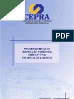 CEPRA - Procedimentos Inspecção Veículos Ligeiros