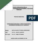 Supervisión Bancaria y Crisis Financieras - Experiencia Reciente del Paraguay - BCP - PortalGuarani
