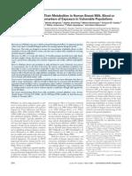 Phthalate Diesters and Their Metabolites in Human Breast Milk, Blood or  Serum, and Urine as Biomarkers of Exposure in Vulnerable Populations