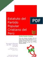 Estatuto Ppc