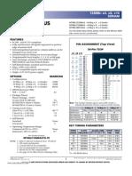 SDRAM 48LC8M16A2 Datasheet