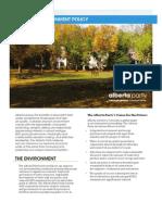 Energy & Environmental Policy Brief
