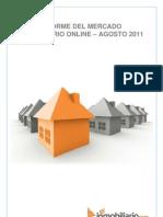 Informe del Mercado Inmobiliario Online Agosto