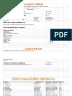 GUIA MEDICARD Bolivia