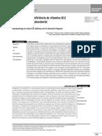 Fisiopatologia da deficiência de vitamina B12 e seu diagnóstico laboratorial