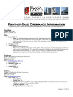 Point of Sale Ordinance Info_ 2011