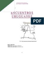 REVISTA ENCUENTROS URUGUAYOS 2008
