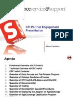 CTI Partner Engagement Presentation