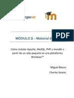 Como Instalar XAMPP y Moodle 2.0 Dev en WindowsTM