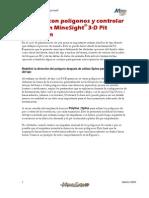 Trabajar Con Poligonos y Controlar Taludes en MineSight 3D Pit Expansion