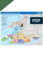 Oakland Port Mari Map