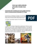Pueblos Kechuas Manifiesto