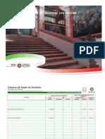 Avance de Gestión Financiera 2011 16 Aplicación de Recursos con Destino Específico