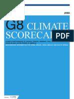 G8 Scorecards