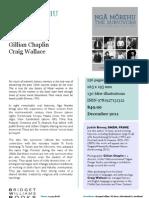 Nga Morehu (9781927131312) - BWB Sales Sheet