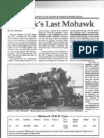 Selkirk's Last Mohawk