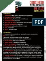 Concierto Inaugural 6to FESTIVAL DE MÚSICA ENSAMBLES 2011