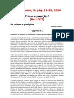 De Crimes e Punições- William Godwin