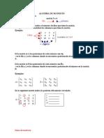 Algebra de Matrices Pp