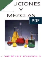 SOLUCIONES Y MEZCLAS