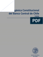Ley Banco Central Chile