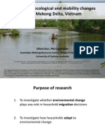 Agricultural, ecological and mobility changes in the Mekong Delta, Vietnam -  by Olivia Dun, University of Sydney, Australia