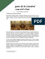 El Organo Loret de La Catedal de Arequipa