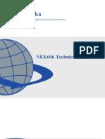 Draka NEK606 Tech