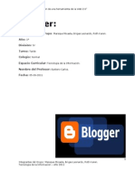 Blogger Word