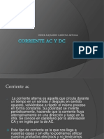 Corriente Ac y Dc
