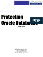 Protecting Oracle Databases White Paper