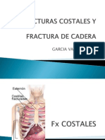 FRACTURAS COSTALES Y FX DE CADERA