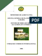 7_Estudio de Mercado Alcachofa en Conserva