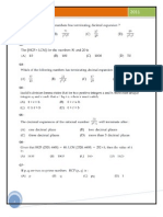 MCQ Class X Polynomials Question Answers | Polynomial