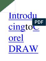 IntroducingtoCorel DRAW
