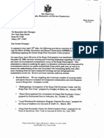 May 3, 2007 - Commissioner Ash Contacts Senator Flanagan Regarding the Future of State Park