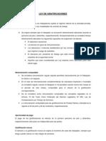 LEY DE GRATIFICACIONES