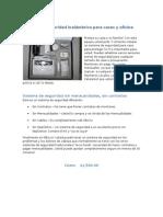 Sistema de Seguridad Inalámbrico Para Casas y Oficina