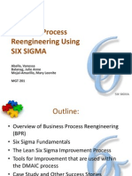 BPR Using Six Sigma[1]