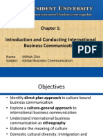 Chapter 1 - Conducting International Business Communication