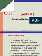 Week 3 - Hardware