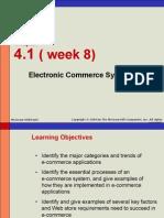 Week 8 - Electronic Commerce